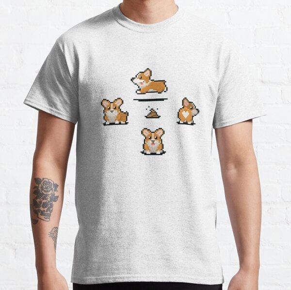 Retro Corgi Classic T-Shirt
