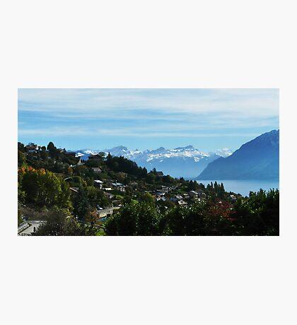 Swiss Mountain scene Photographic Print
