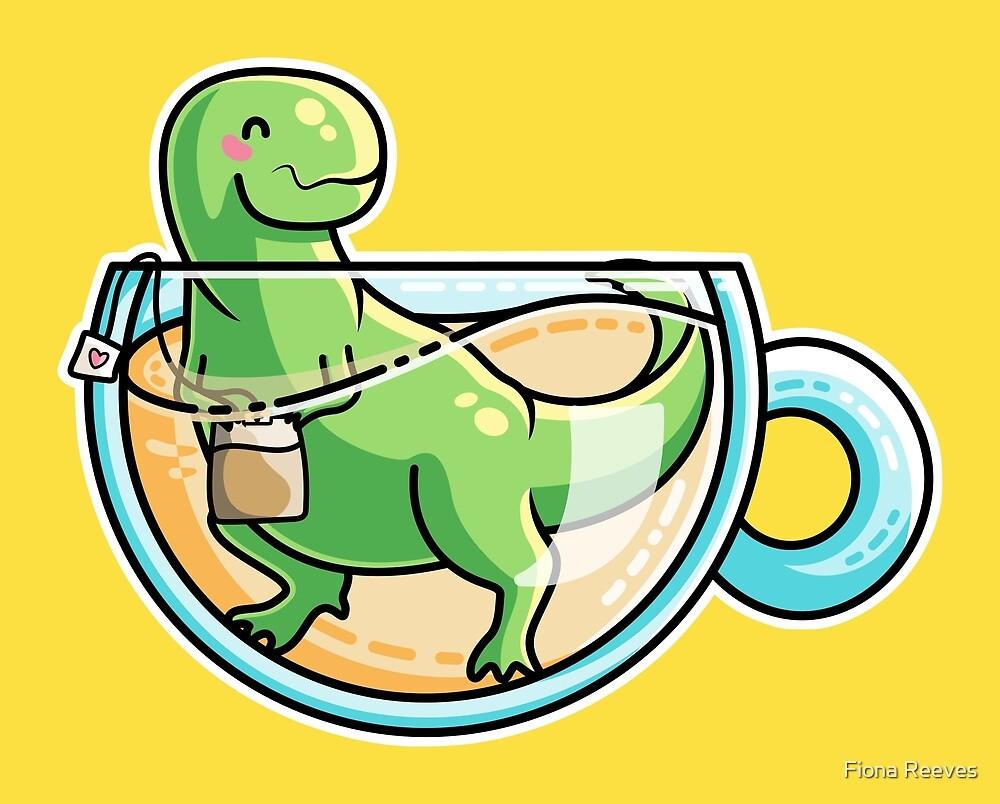 Tea Rex by Fiona Reeves