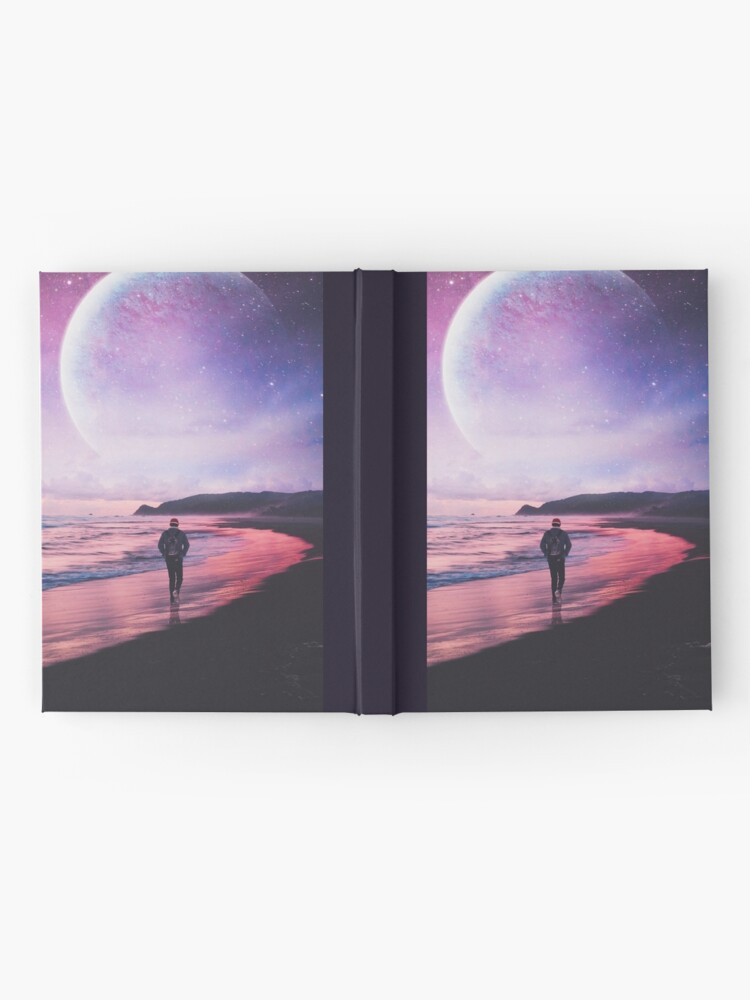 Alternate view of Night Stroll Hardcover Journal