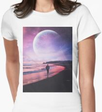 Night Stroll Fitted T-Shirt
