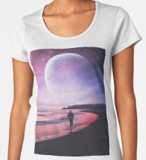 Night Stroll Premium Scoop T-Shirt