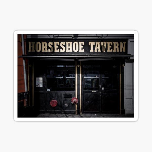 Horseshoe Tavern Toronto Canada No 1 Color Version Sticker