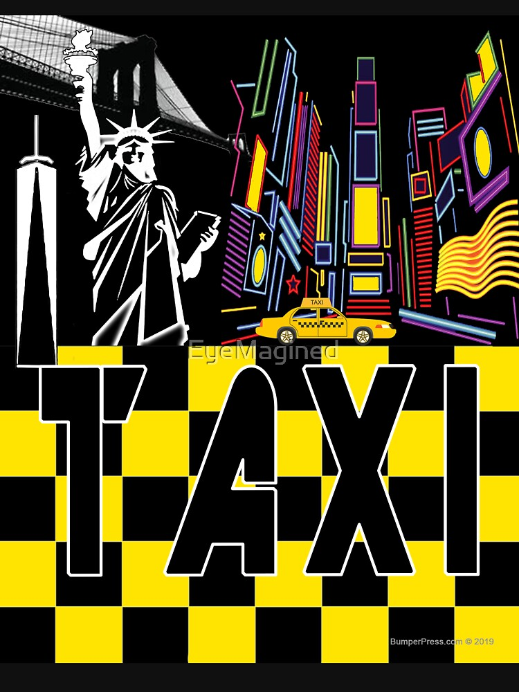 Taxi Land by EyeMagined