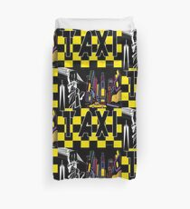 Taxi Land Duvet Cover