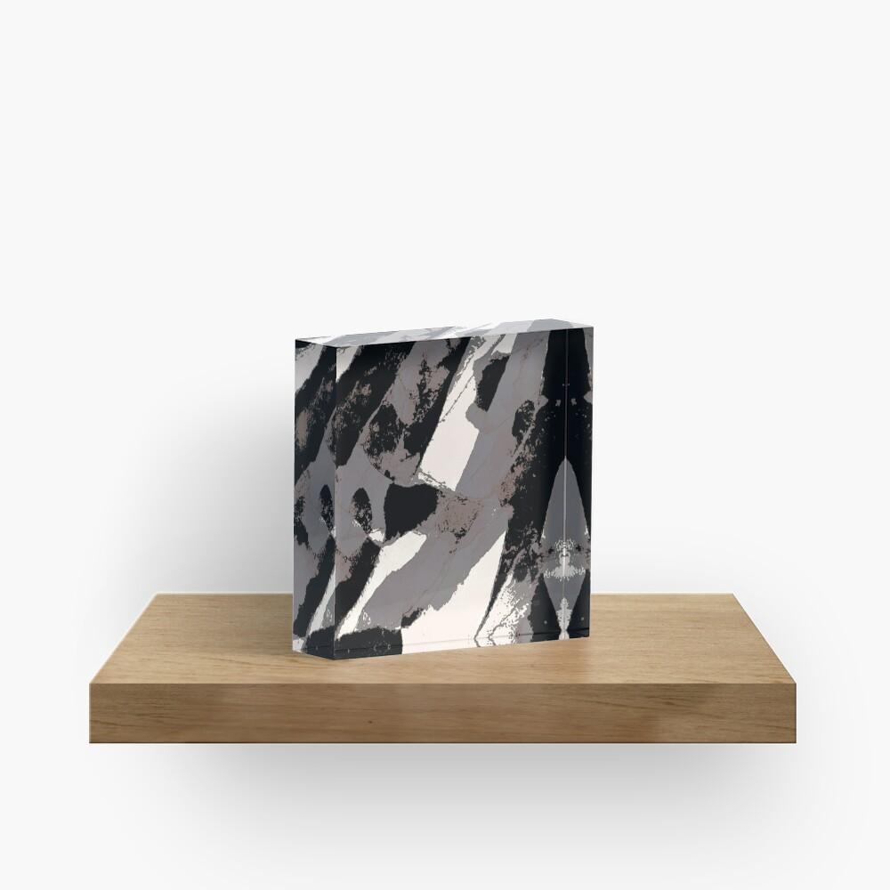 Organic No.1 Abstract #muted #redbubble #artprints #fineart Acrylic Block
