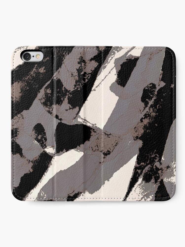 Alternate view of Organic No.1 Abstract #muted #redbubble #artprints #fineart iPhone Wallet