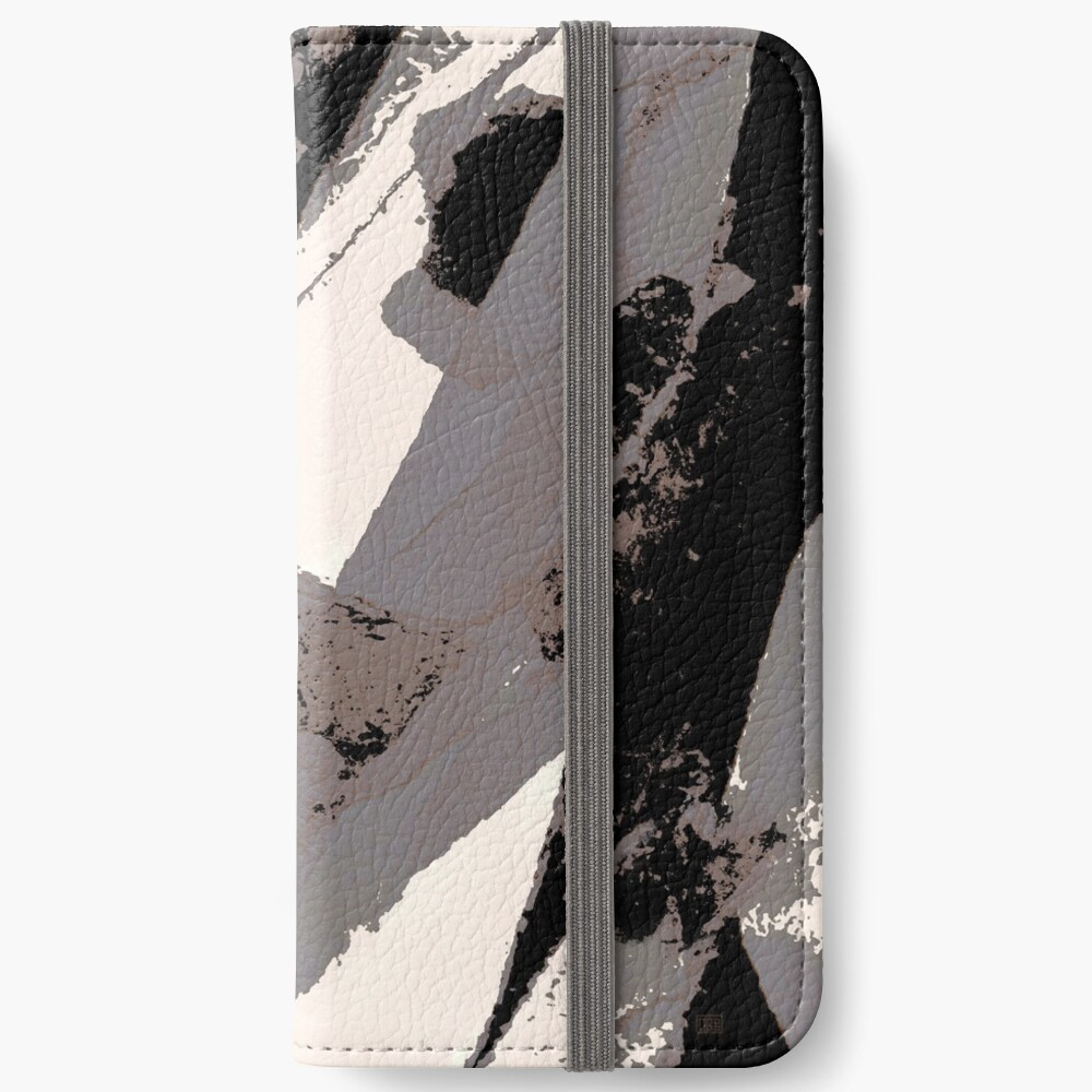 Organic No.1 Abstract #muted #redbubble #artprints #fineart iPhone Wallet