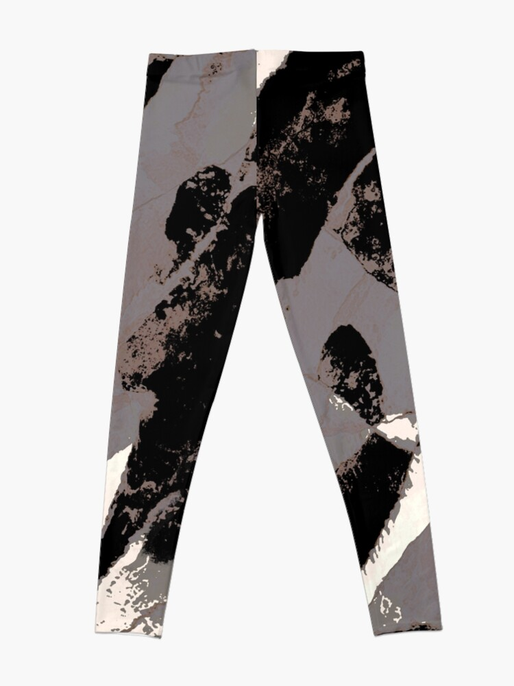 Alternate view of Organic No.1 Abstract #muted #redbubble #artprints #fineart Leggings