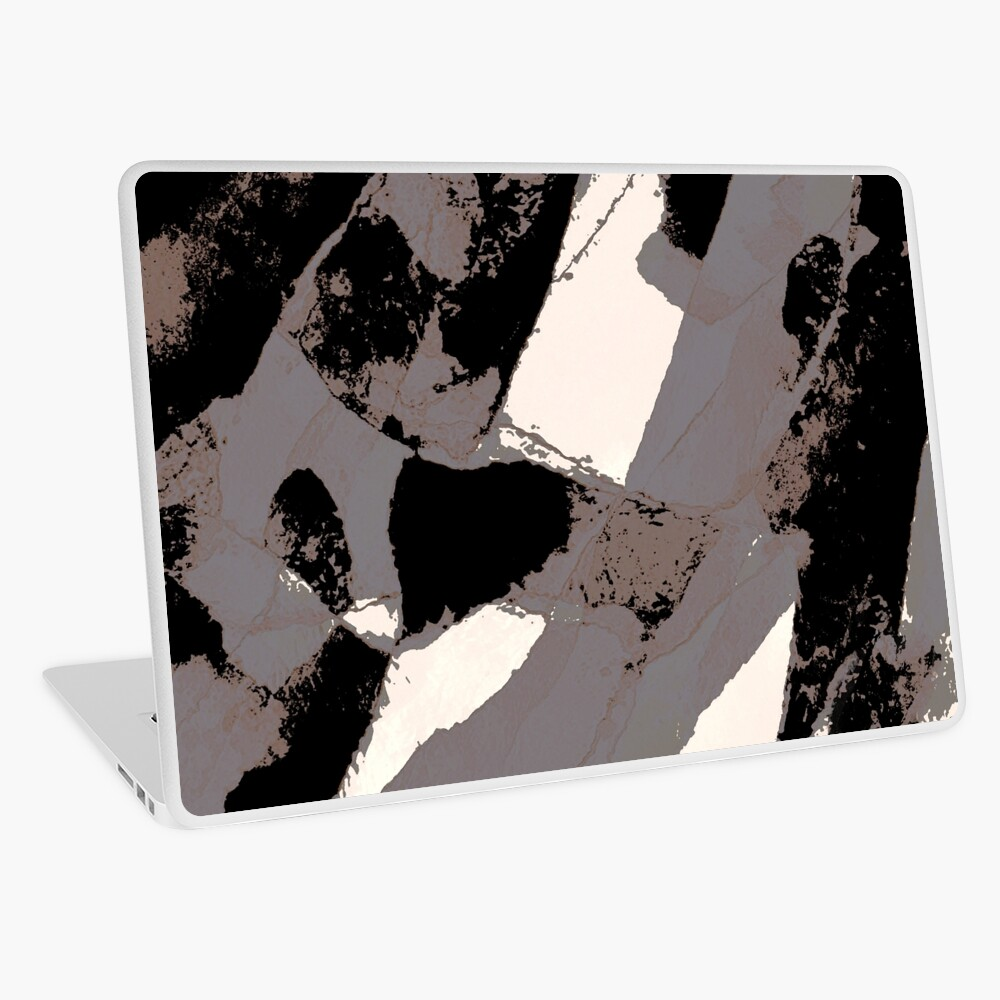 Organic No.1 Abstract #muted #redbubble #artprints #fineart Laptop Skin
