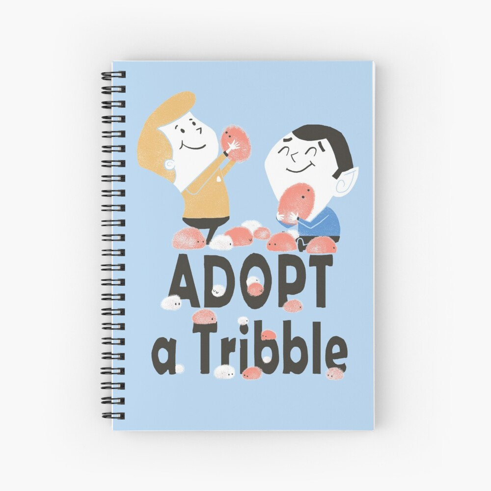 Adopt A Tribble Spiral Notebook