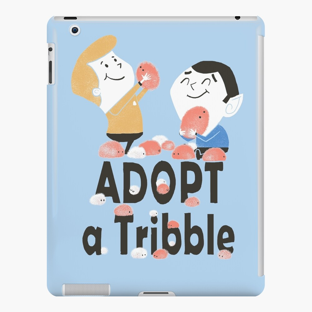 Adopt A Tribble iPad Case & Skin