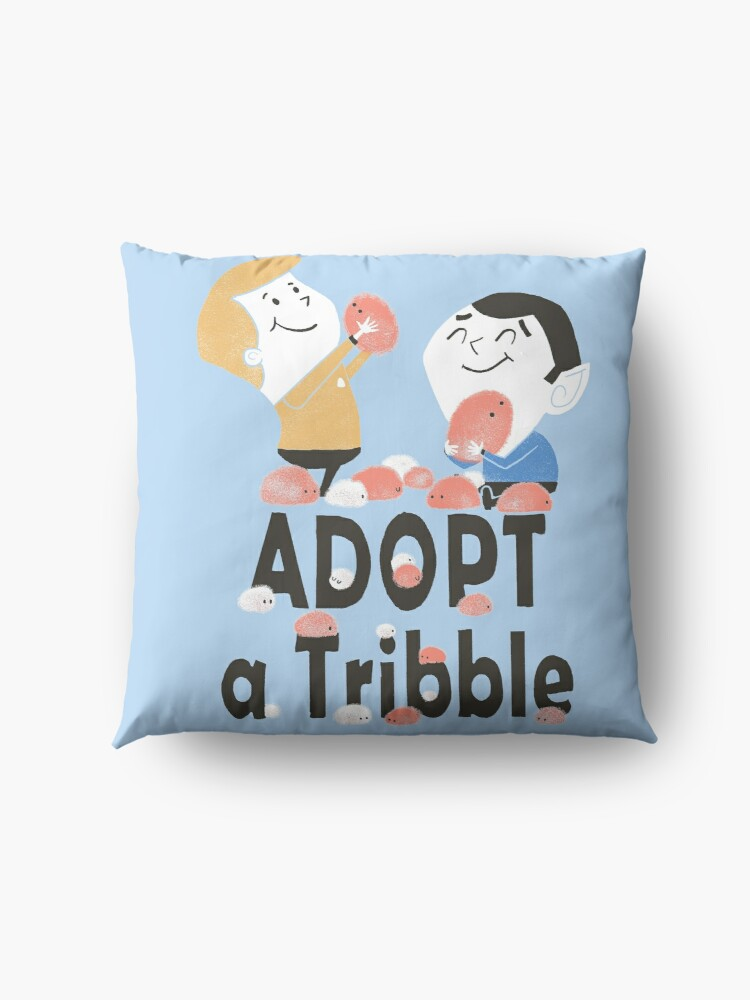 Alternate view of Adopt A Tribble Floor Pillow