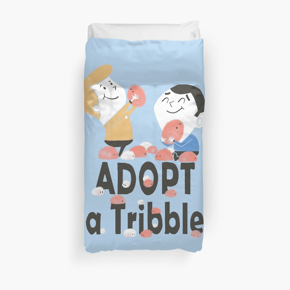 Adopt A Tribble Duvet Cover