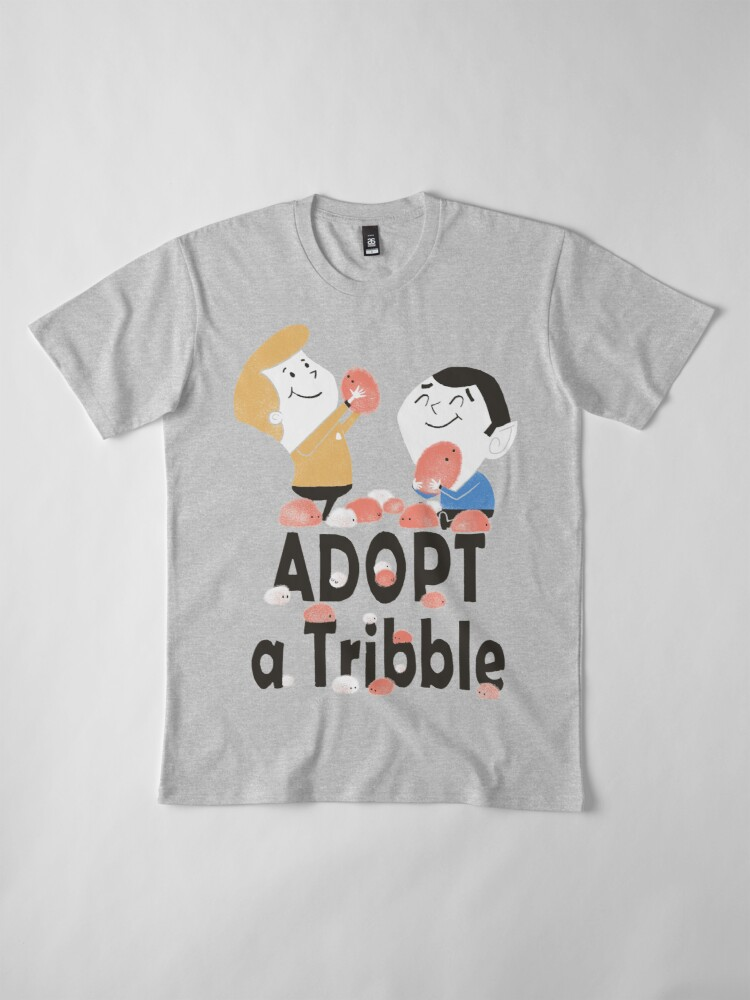 Alternate view of Adopt A Tribble Premium T-Shirt