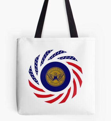 Atlanta Murican Patriot Flag Series Tote Bag