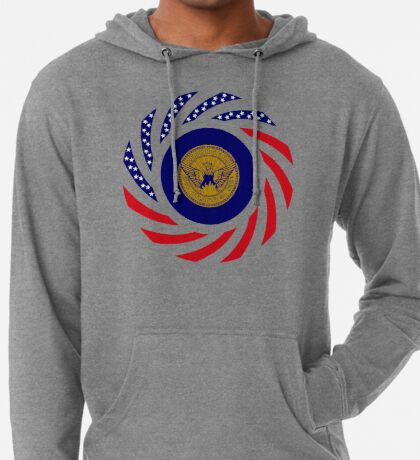 Atlanta Murican Patriot Flag Series Lightweight Hoodie
