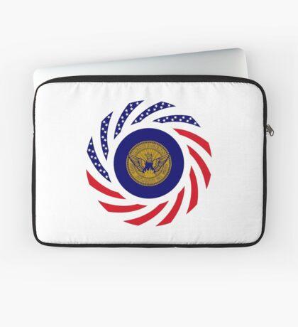Atlanta Murican Patriot Flag Series Laptop Sleeve