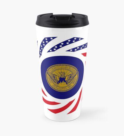 Atlanta Murican Patriot Flag Series Travel Mug