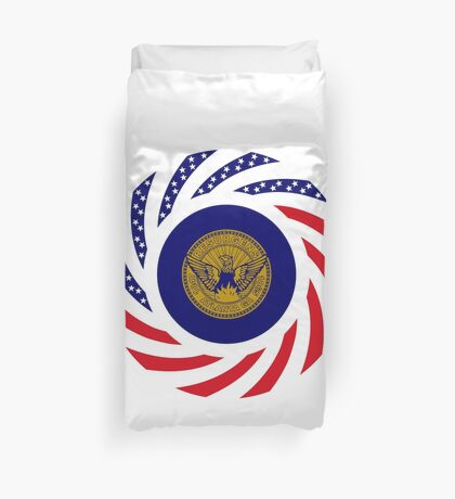 Atlanta Murican Patriot Flag Series Duvet Cover