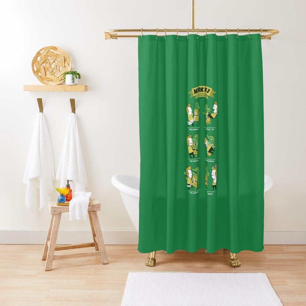 Kirk Fu Shower Curtain