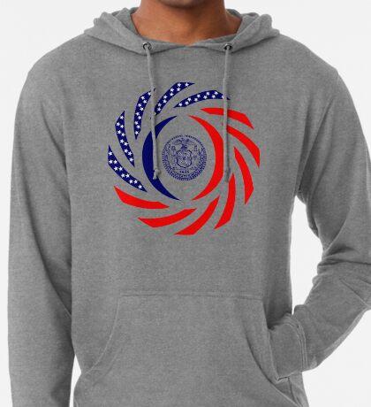 New York City Murican Patriot Flag Series Lightweight Hoodie