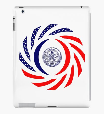 New York City Murican Patriot Flag Series iPad Case/Skin