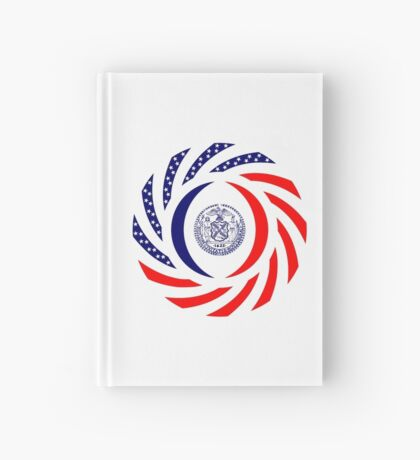 New York City Murican Patriot Flag Series Hardcover Journal