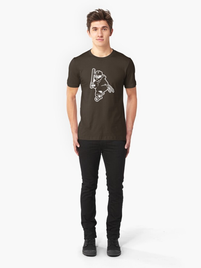 Alternate view of Father Baseball Slim Fit T-Shirt