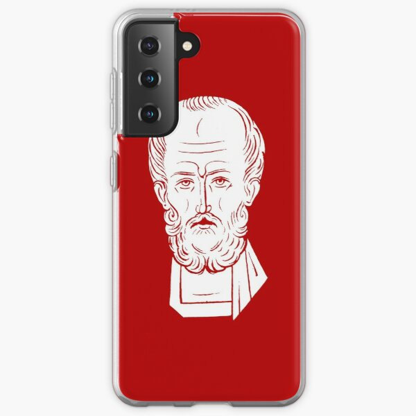 The Face of Santa Claus   St Nicholas of Myra Samsung Galaxy Soft Case