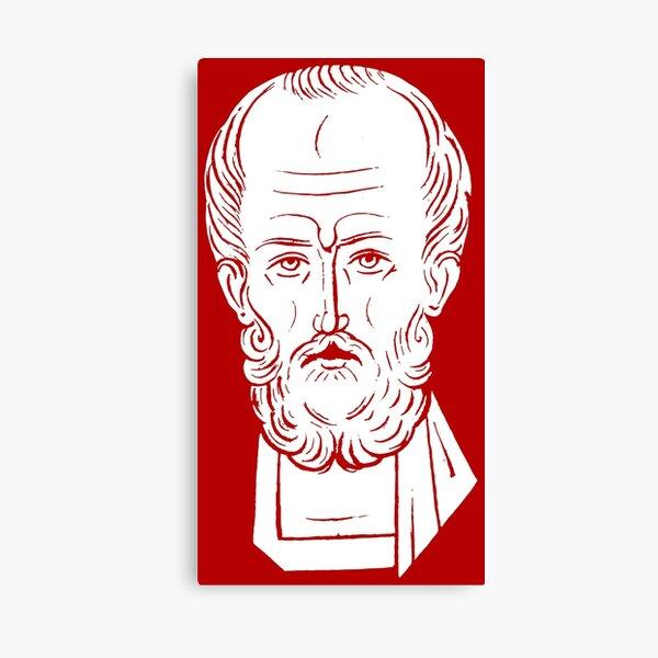 The Face of Santa Claus | St Nicholas of Myra Canvas Print