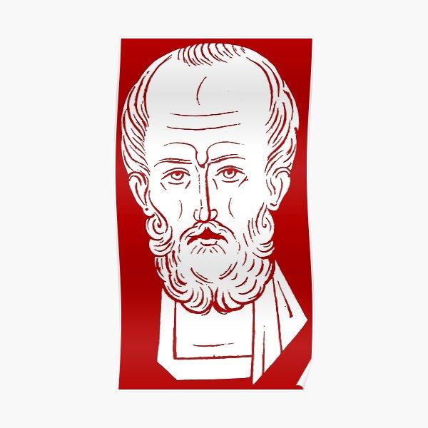 The Face of Santa Claus   St Nicholas of Myra Poster