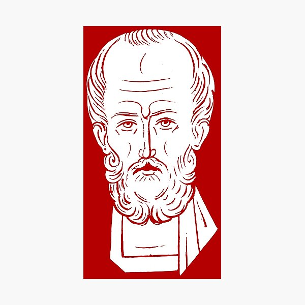 The Face of Santa Claus | St Nicholas of Myra Photographic Print