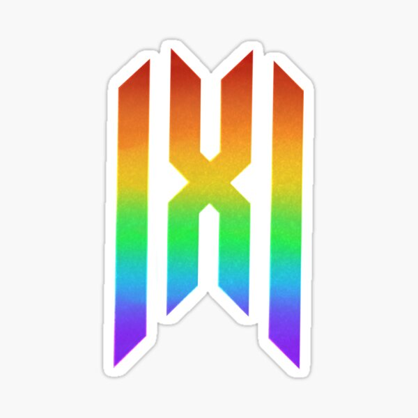 Monsta X Logo Stickers Redbubble