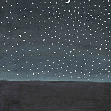Stargazing ~ Galaxy Painting  by LizzyONE20