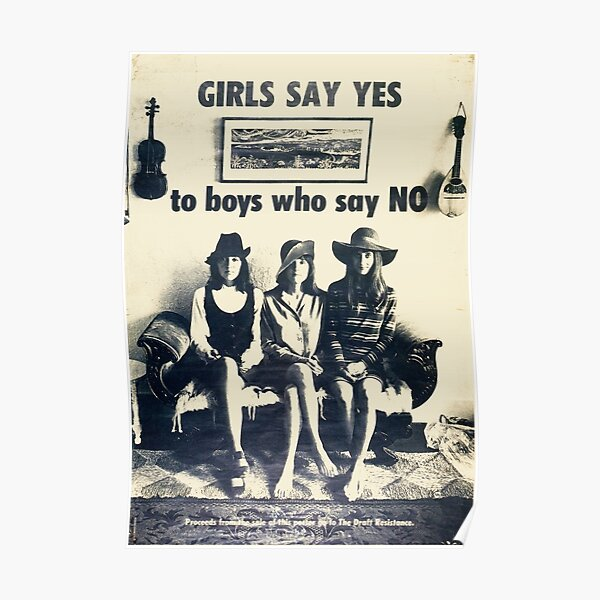 Girls say yes to guys who say no Poster