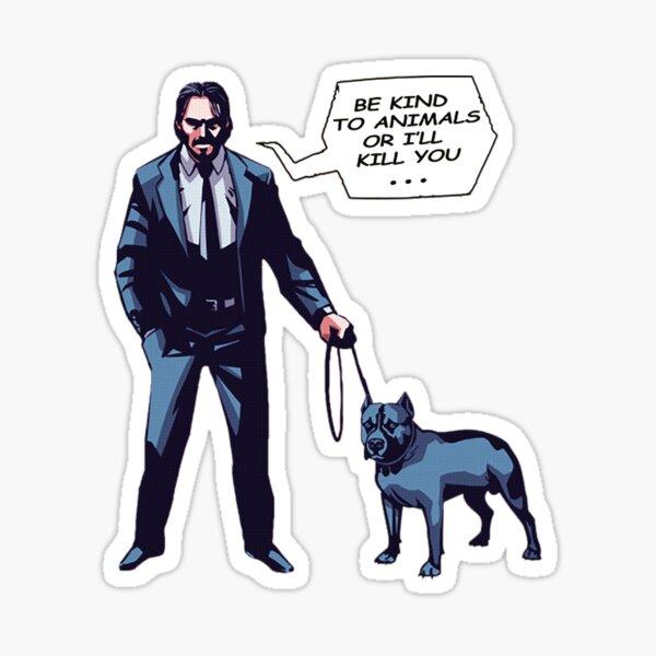 John Protect Sticker
