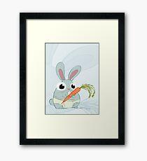 Trunk Bunny Framed Print