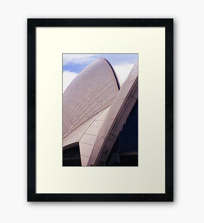 Opera House roof Framed Print