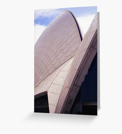 Opera House roof Greeting Card