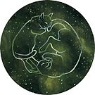 Astrology Cats - Pisces Zodiac by Stephanie Gobby