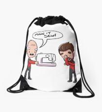 Make It Sew Drawstring Bag
