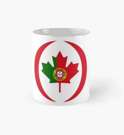Portuguese Canadian Multinational Patriot Flag Series Mug