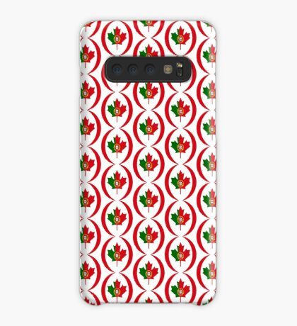 Portuguese Canadian Multinational Patriot Flag Series Case/Skin for Samsung Galaxy