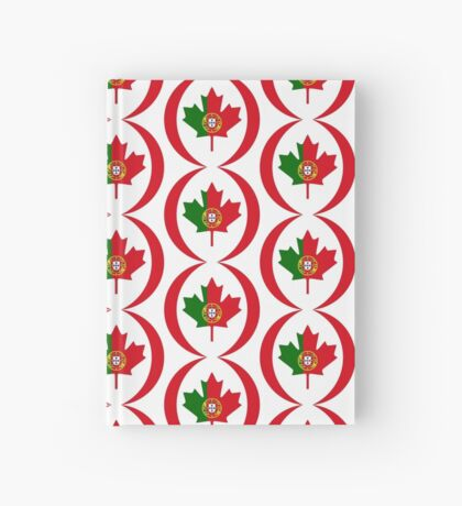 Portuguese Canadian Multinational Patriot Flag Series Hardcover Journal