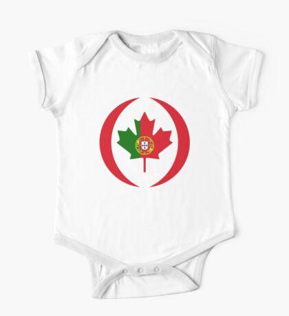 Portuguese Canadian Multinational Patriot Flag Series Kids Clothes