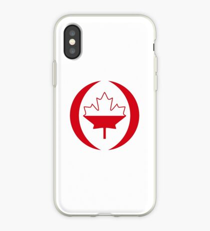 Polish Canadian Multinational Patriot Flag Series iPhone Case