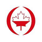 Polish Canadian Multinational Patriot Flag Series by Carbon-Fibre Media