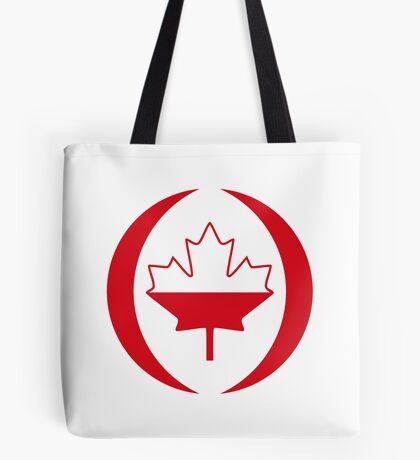 Polish Canadian Multinational Patriot Flag Series Tote Bag