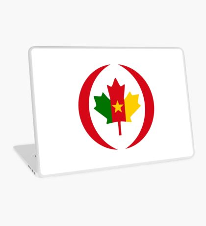 Cameroon Canadian Multinational Patriot Flag Series Laptop Skin